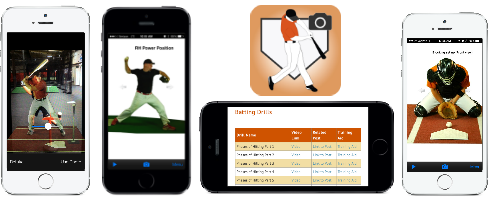 My Coach Baseball Instructor app collage