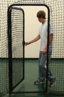 Batting-cage-door-open