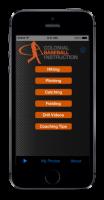 My Coach Baseball App Home Screen