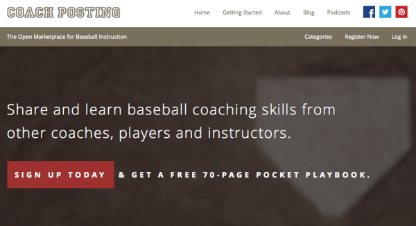 Coach Posting Website