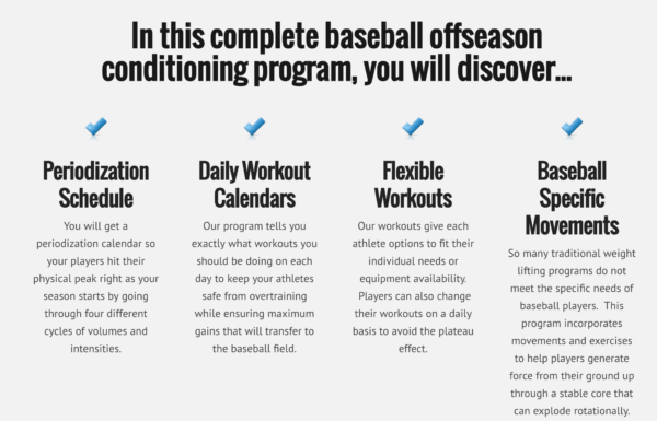 High School Baseball Conditioning Program