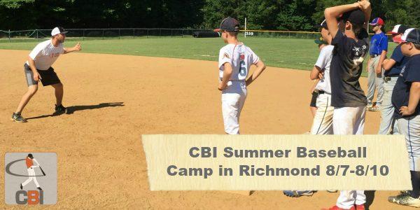 Summer Baseball Camps in Richmond VA
