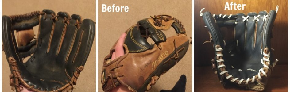 Baseball Glove Relace, Repair and Reconditioning