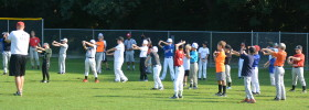 Baseball Camp Warm Up