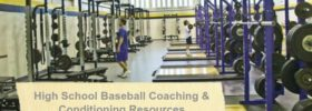Baseball Conditioning Weight Room