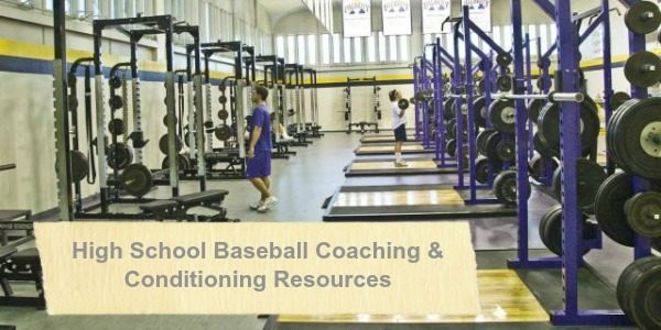 High School Baseball Coaching Resources