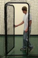 Batting-cage-door-open