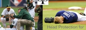 SST Head Guard Pitchers Helmet Feature