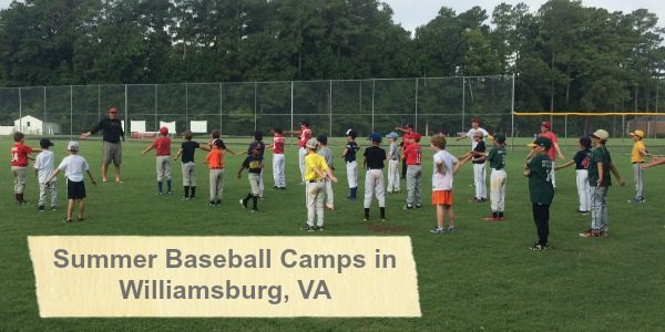 Summer Baseball Camps in Southern Virginia
